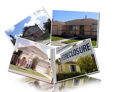 foreclosed homes