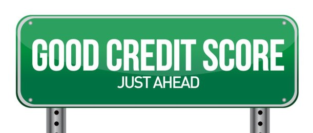 Good Credit Score Sign