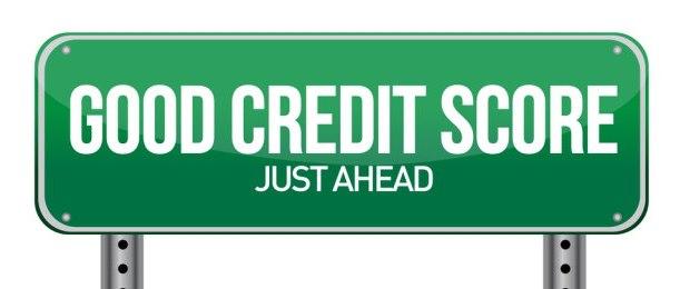 Good Credit Score Sign