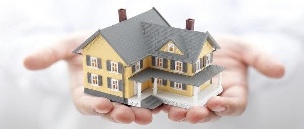 Model Home in Hands