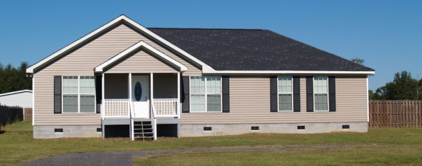 Small Low Income Manufactured Home